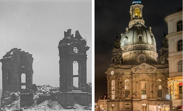 Príbehy známych európskych stavieb, ktoré sa po požiari či bombardovaní podarilo zachrániť