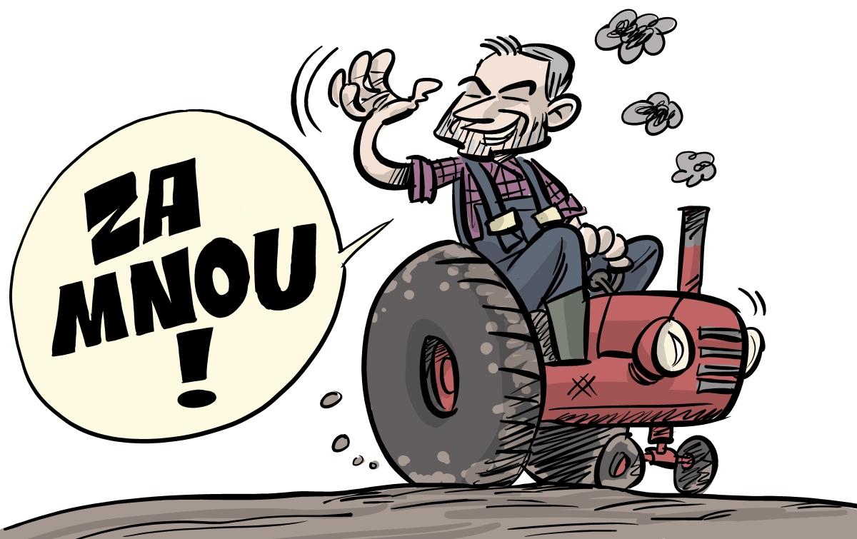 Shooty: Traktorový líder (grafika 5)