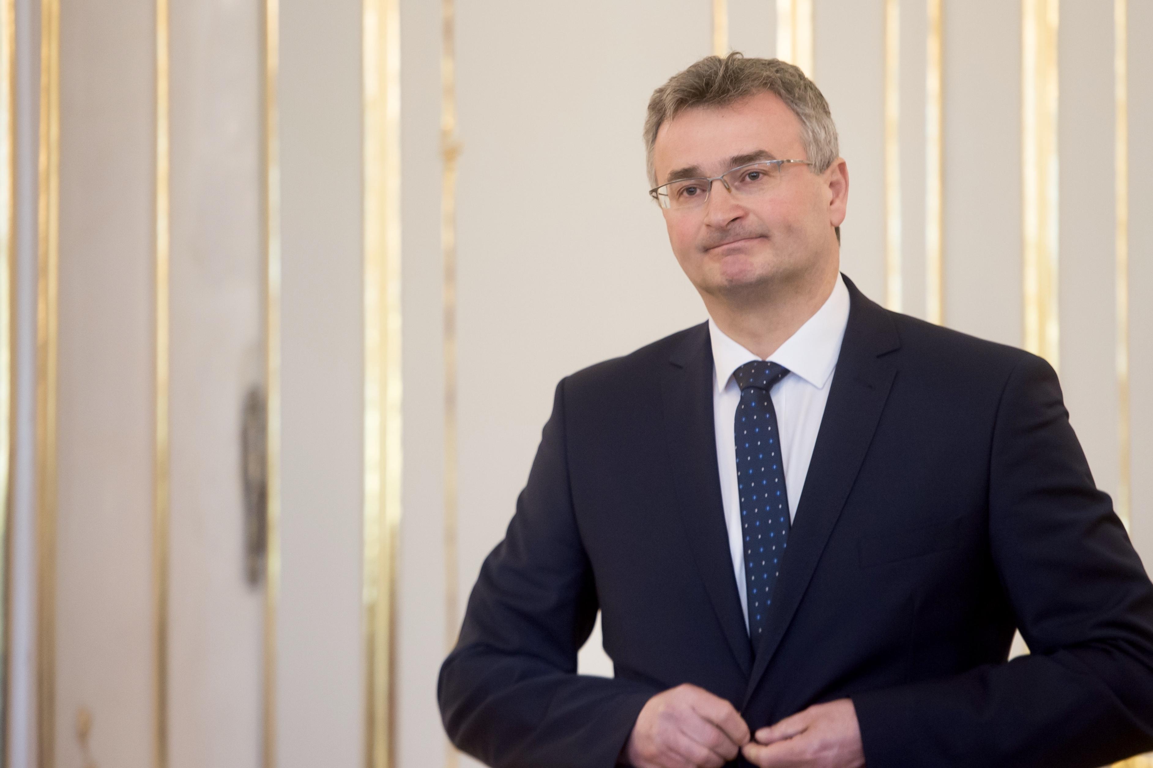 Nový predseda Ústavného súdu Ivan Fiačan. Foto N – Vladimír Šimíček