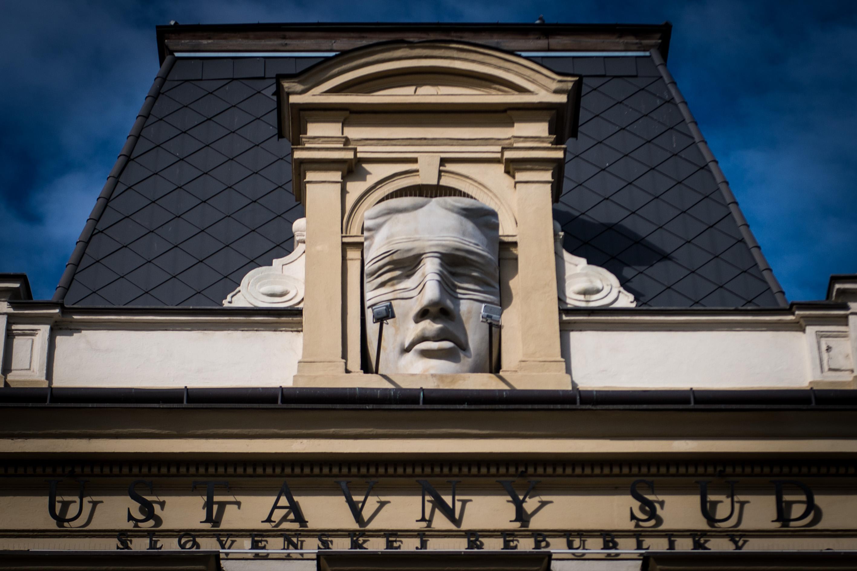 Budova Ústavného súdu v Košiciach. Foto N - Vladimír Šimíček