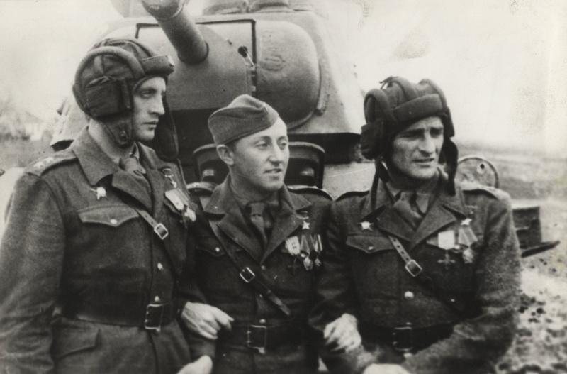 Traja držitelia Zlatej hviezdy Hrdinu Sovietskeho zväzu