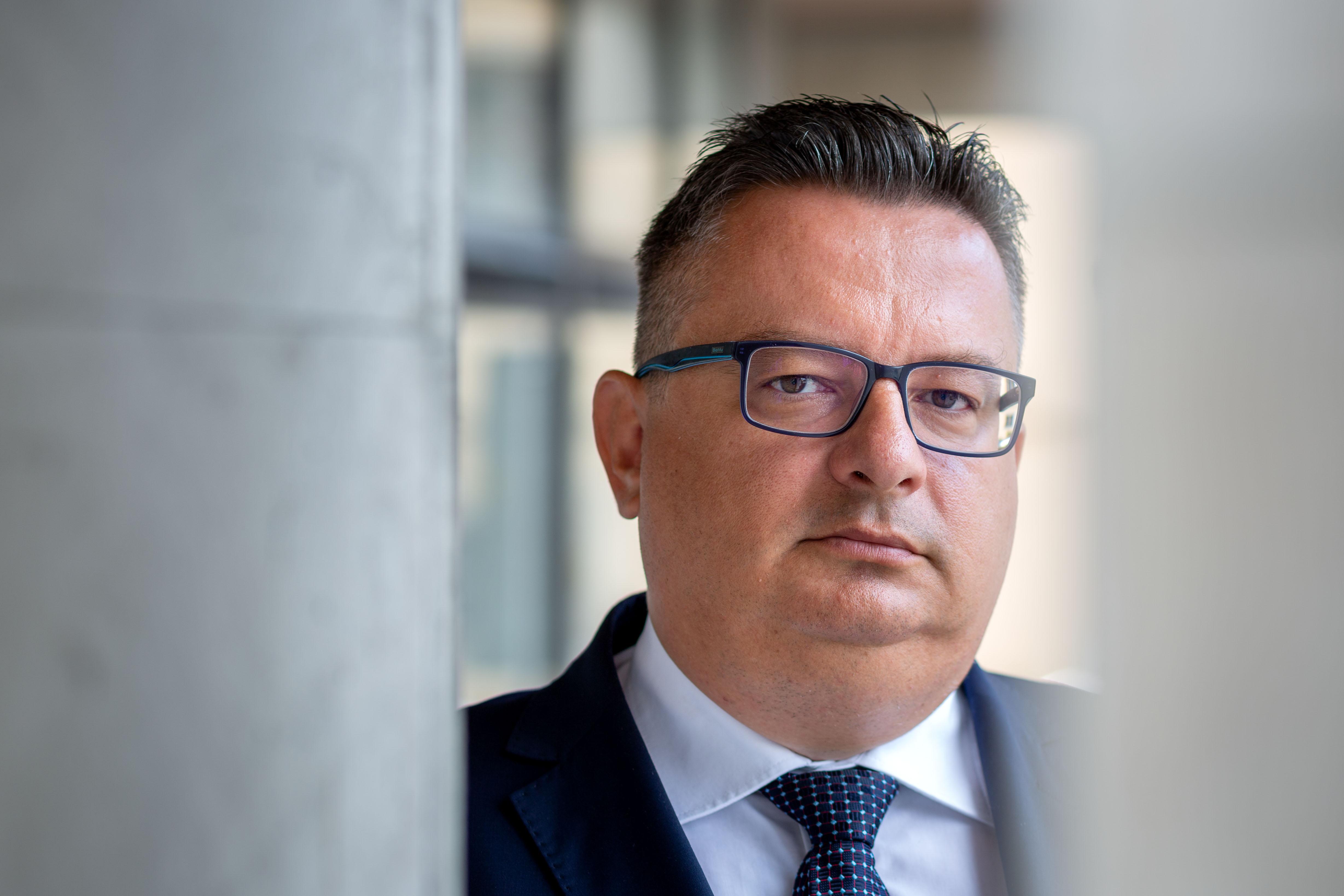 Predseda Okresného súdu v Žiline Jaroslav Macek. Foto N - Tomáš Benedikovič