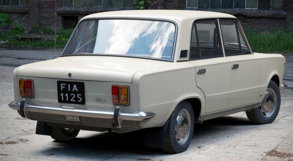 Fiat 125 P - zadok