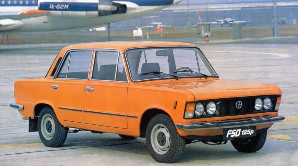 Fiat 125 P - predok