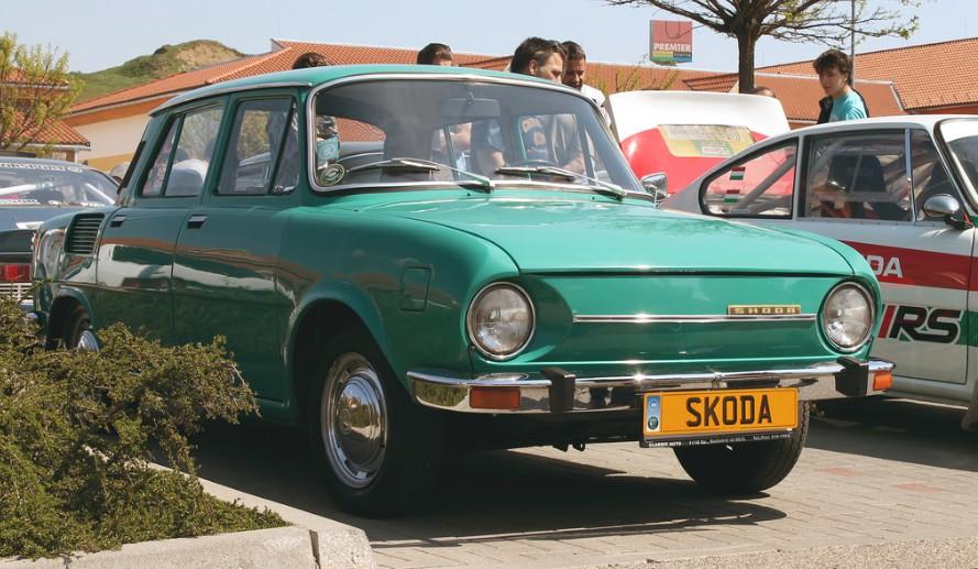 Škoda 100 - predok