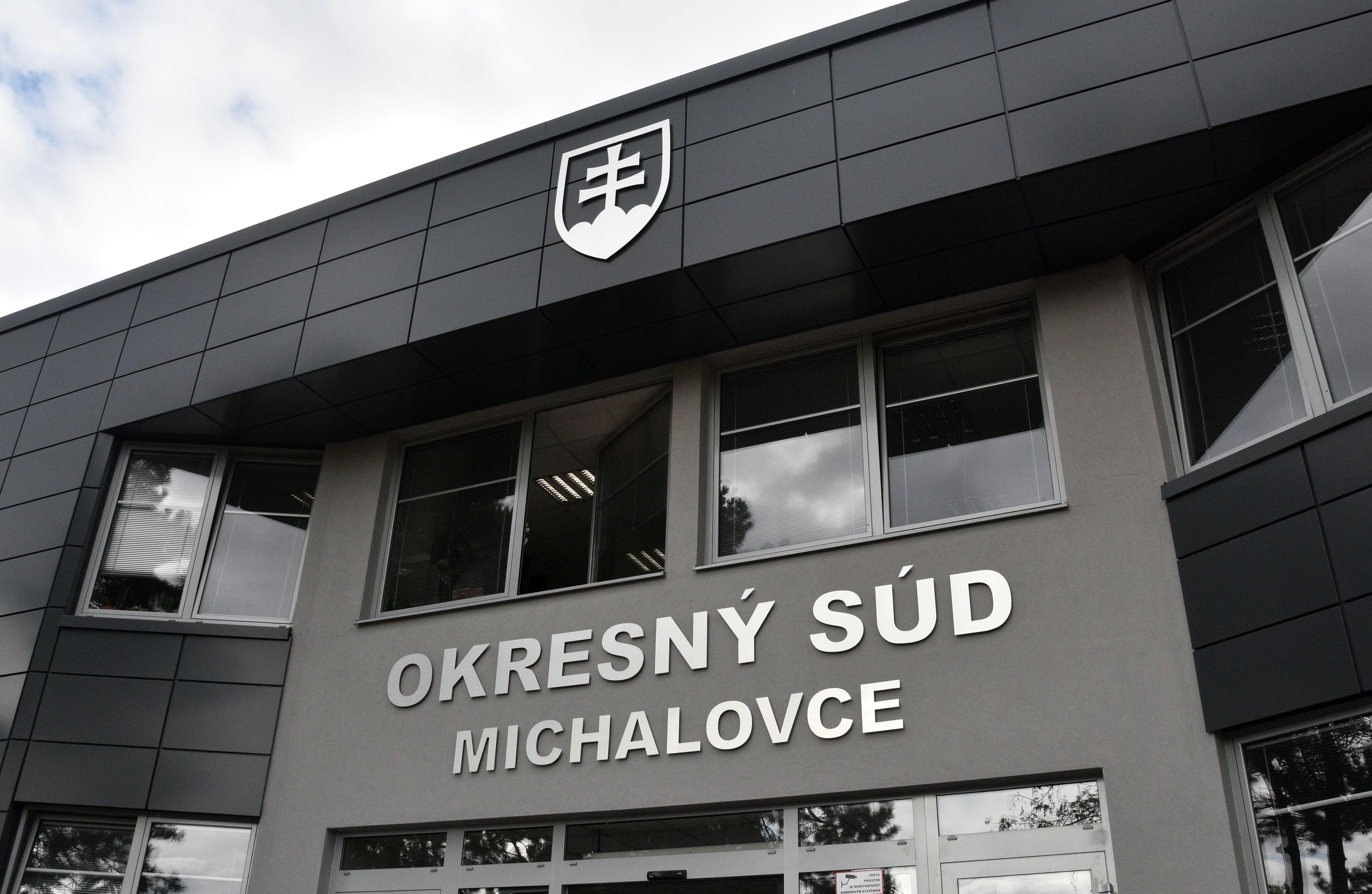 Okresný súd v Michalovciach. Foto - TASR