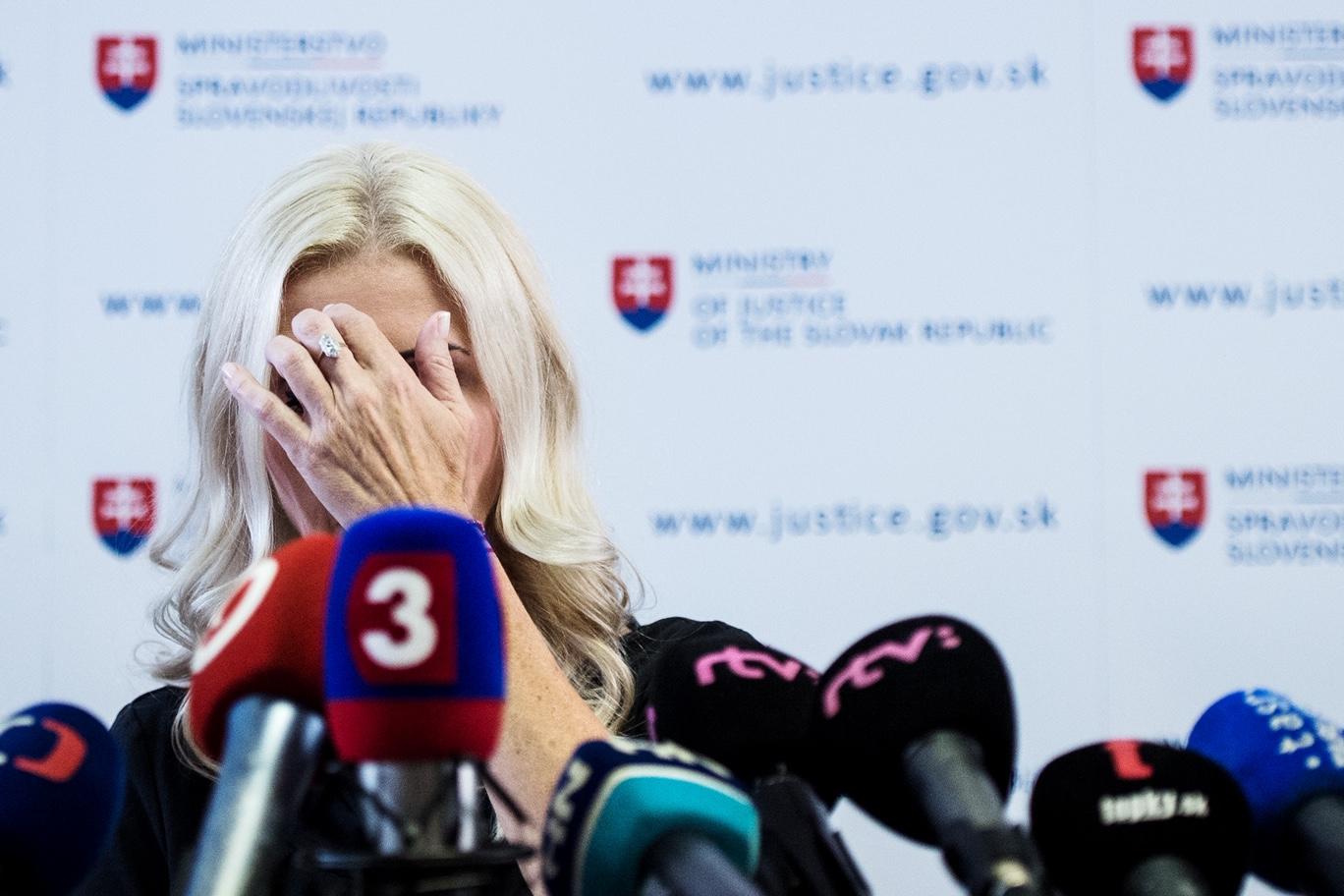Monika Jankovská. Foto N - Vladimír Šimíček