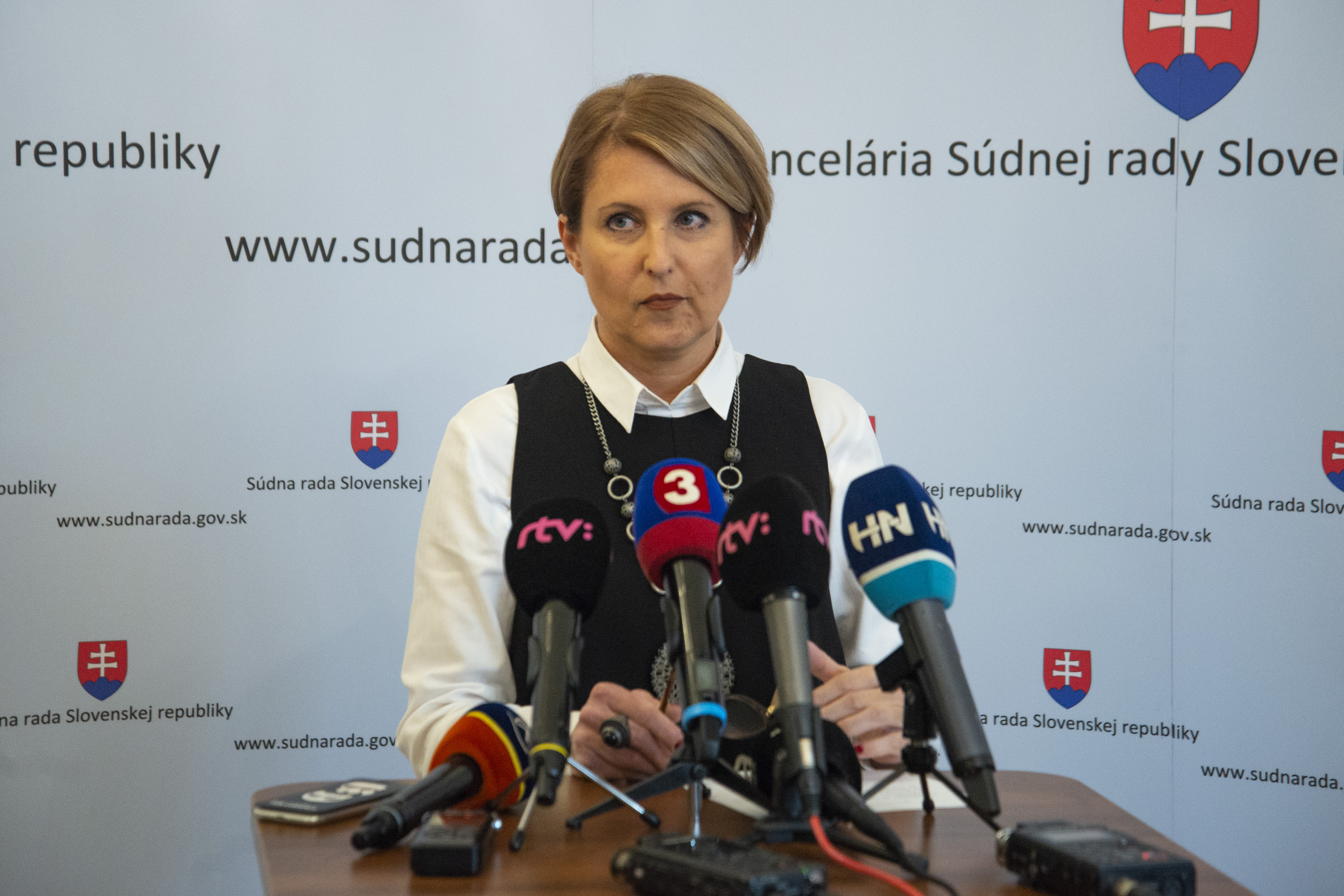 Členka súdnej rady Marcela Kosová. Foto - TASR