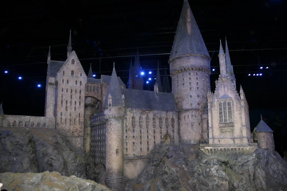 Miniatúra Rockfortského zámku z Harryho Pottera - Warner Bros Studio Tour London