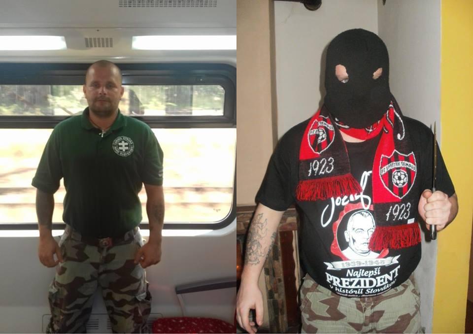 Kotleba a jeho esá vo vlakových hliadkach Vlak-hliadka