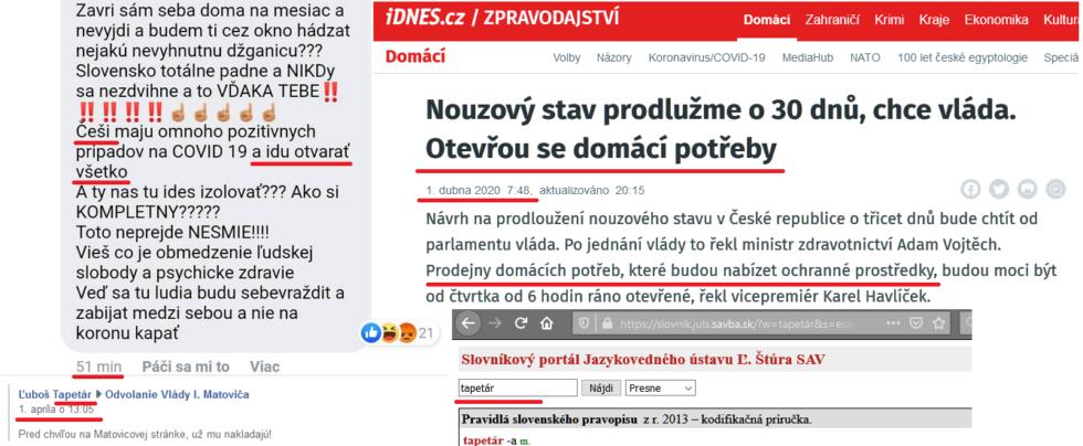 """Neexistujúce meno """"Tapetár"""" klame dôverčivých občanov o opatreniach v susednom Česku"""