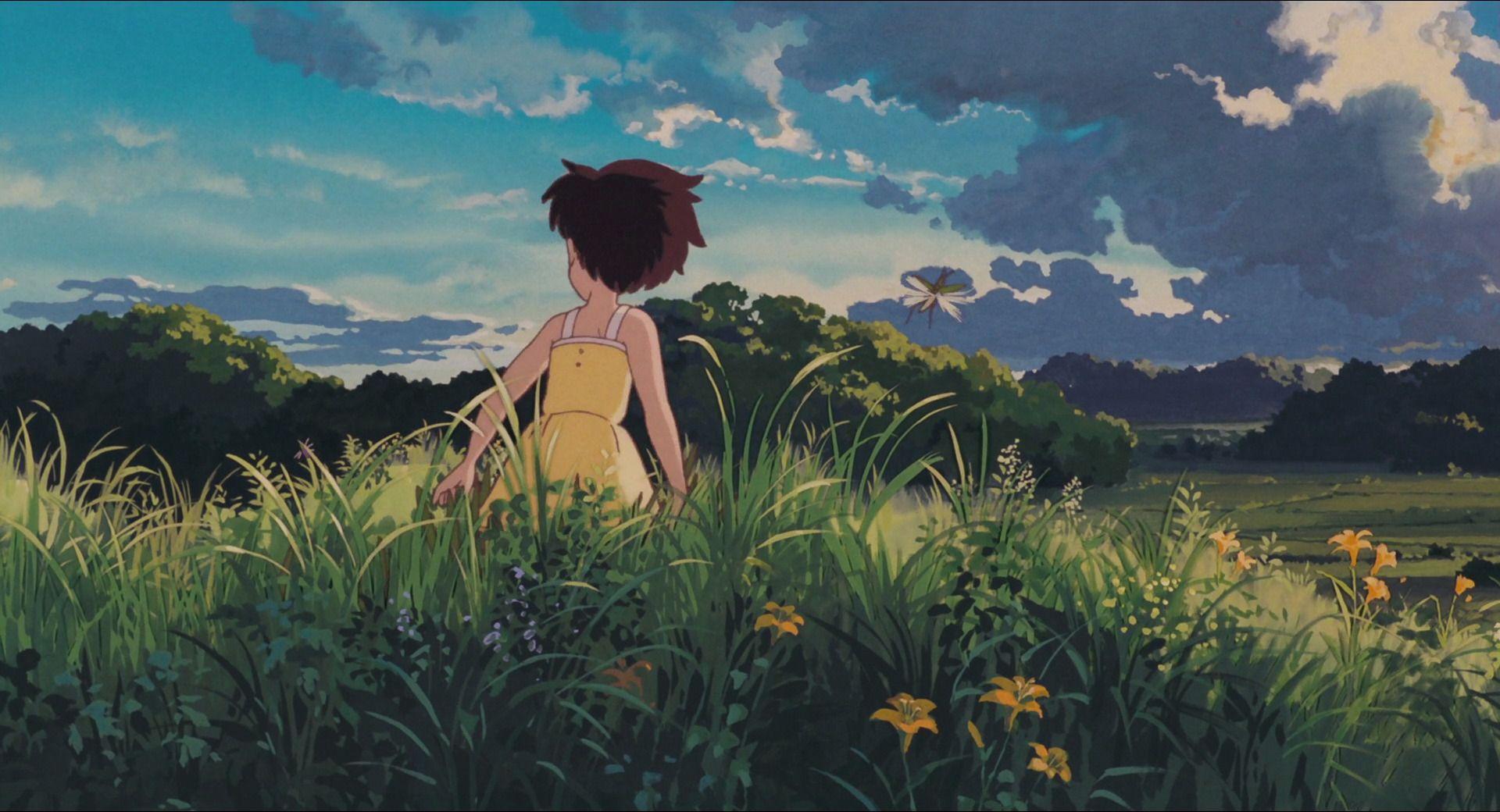 Mijazakiho tvorba je okrem iného charakteristická krásnym stvárnením prírody. Vietor doslova cítite vo vlasoch a na zátylku a dážď vám za chvíľku akoby steká po okennom skle.