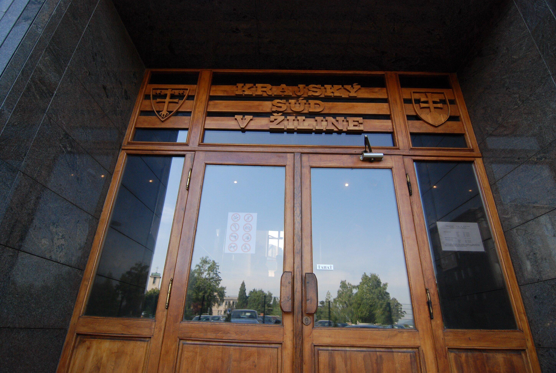 Krajský súd v Žiline. Foto - TASR