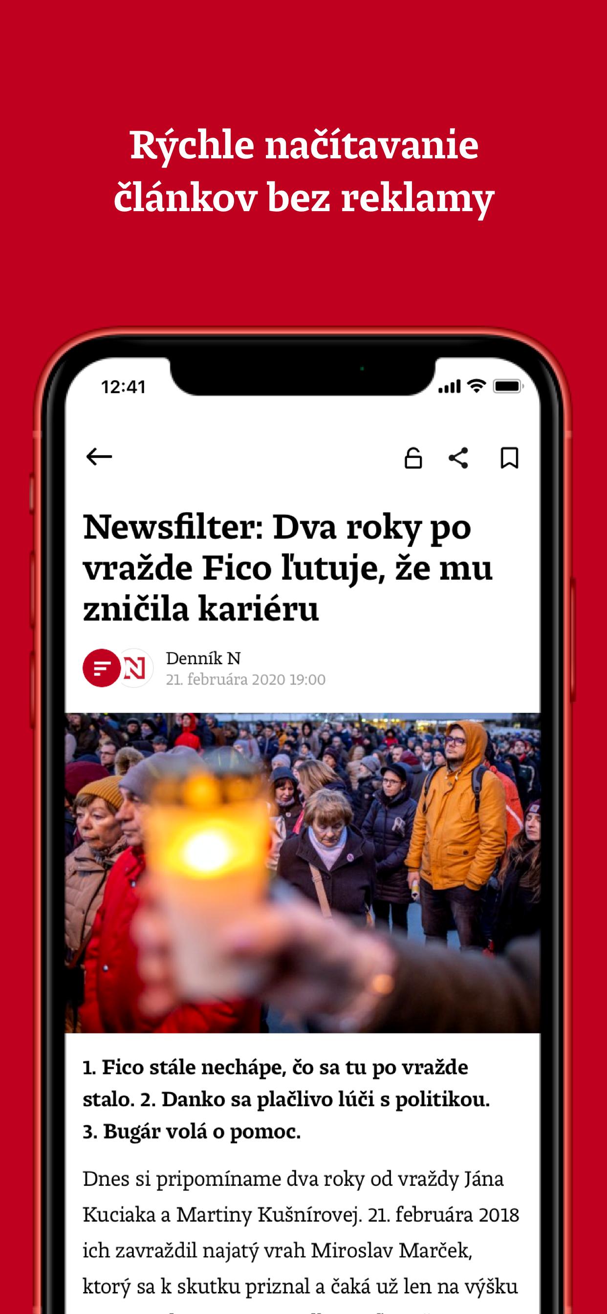 Rýchle načítanie článkov bez reklamy