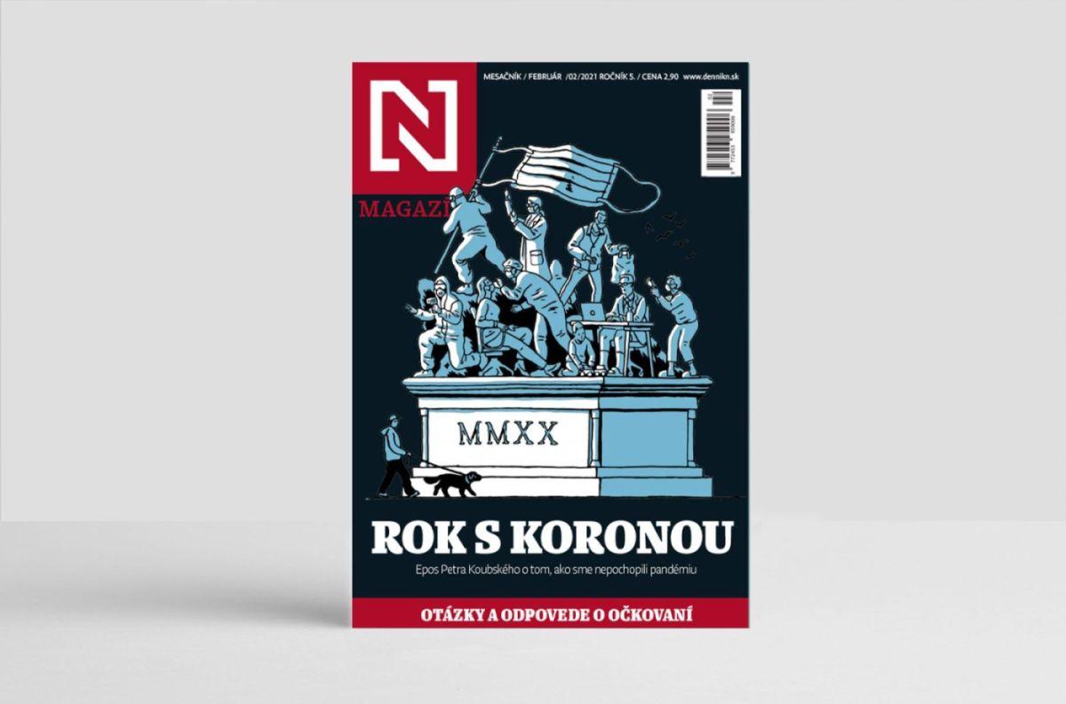 10 kusov magazínu Rok s koronou + 35 otázok a odpovedí o očkovaní