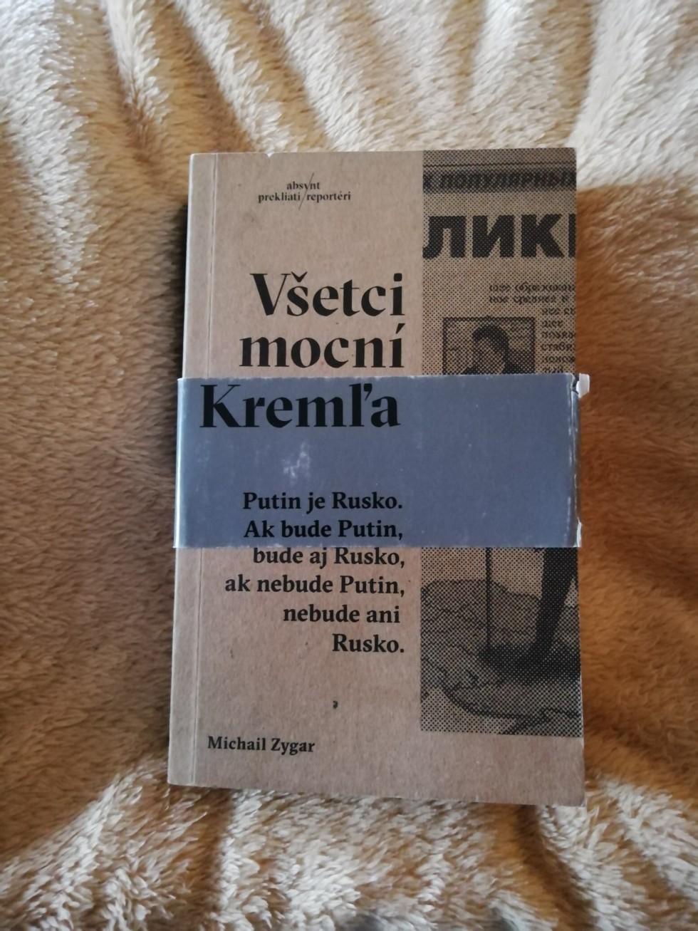Kniha Všetci mocní Kremľa od Michaila Zigara