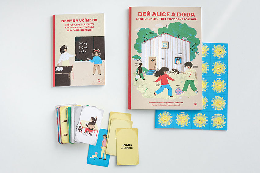 Učiteľský rómsko-slovenský balíček